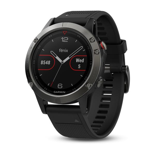 Часы-навигатор GARMIN Мод. FENIX 5 SAPPHIRE HR