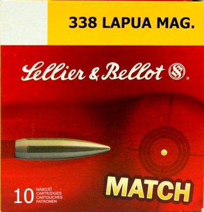 Патрон для нарезного оружия S&B (.338 Lapua Mag.)