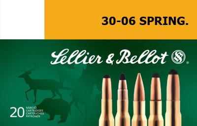 Патрон для нарезного оружия S&B (.30-06 Sprg.)