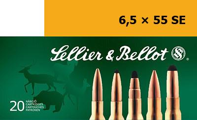 Патрон для нарезного оружия S&B (6,5 x 55)