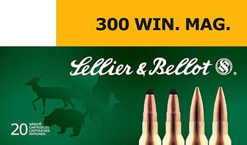 Патрон для нарезного оружия S&B (.300 Win.Mag.)