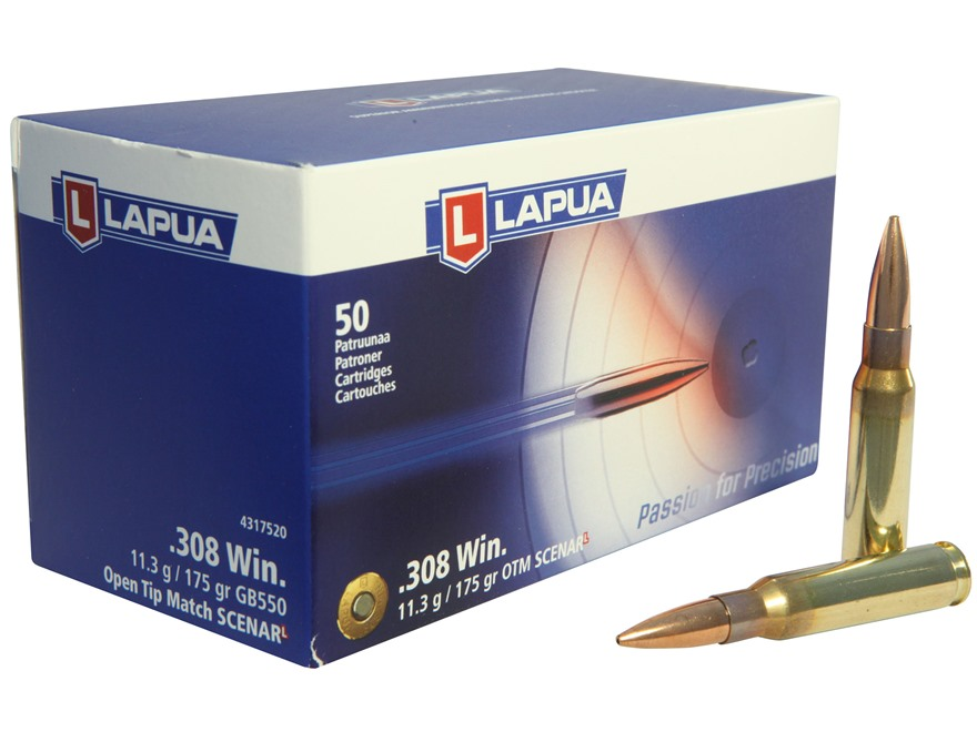 Патрон для нарезного оружия LAPUA (.308 Win.)