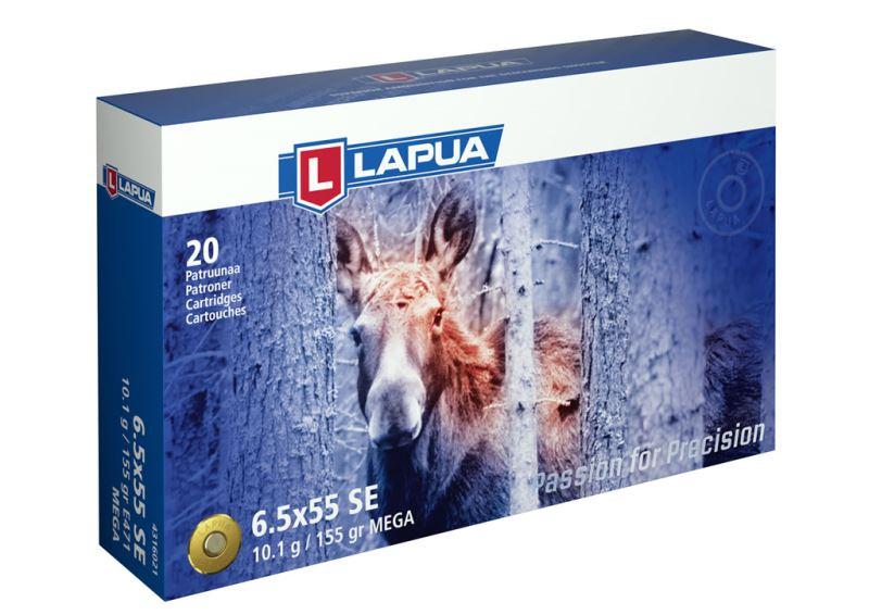 Патрон для нарезного оружия LAPUA (6,5x55 SE)