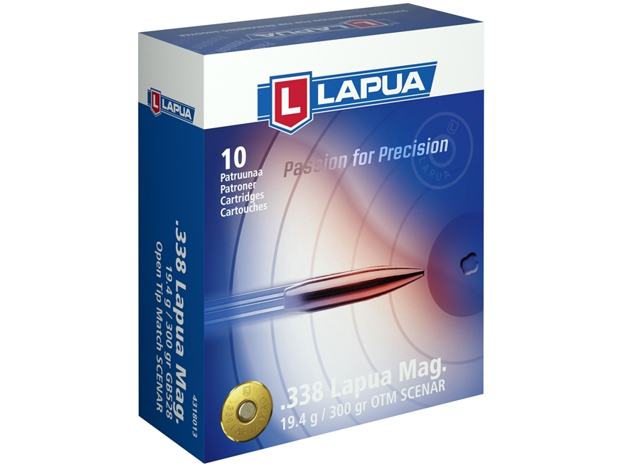 Патрон для нарезного оружия LAPUA (.338 Lapua Mag.)