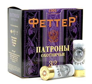 Патрон для гладкоствольного оружия ФЕТТЕР (12/70)(32г) - F1750