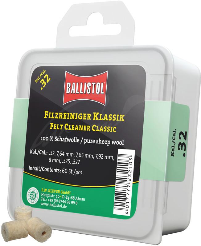 Патчи войлочные BALLISTOL CLASSIC
