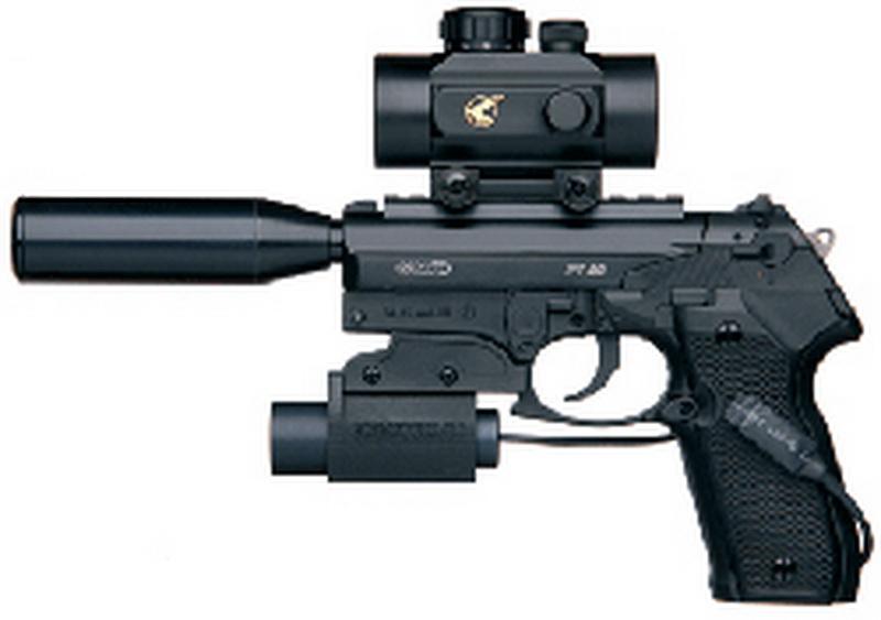 Пневматический пистолет GAMO Мод. PT-80 TACTICAL - F93115
