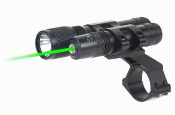 Фонарь + Лазерный целеуказатель BSA Мод. COMBO 532