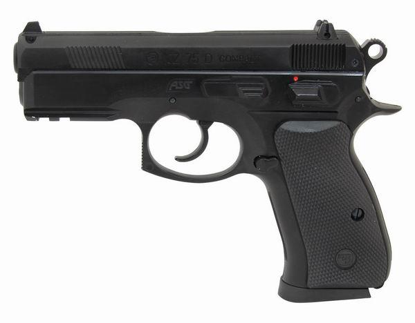Страйкбольный пистолет ASG Мод. CZ 75D COMPACT - F94849