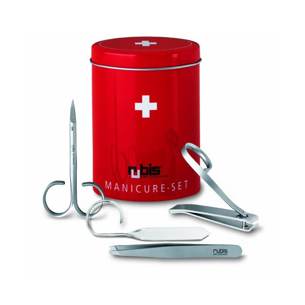 Маникюрный набор VICTORINOX Мод. RUBIS BOX (ножницы, пилочка, пинцет)