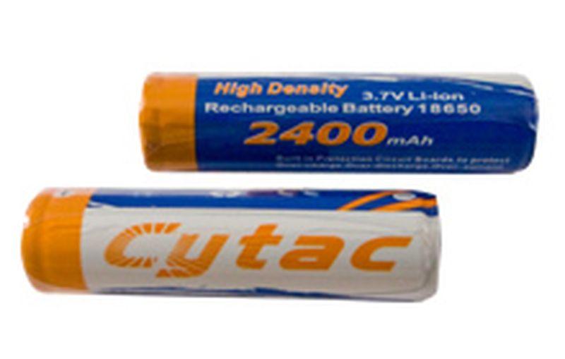 Аккумулятор (Li-ion) CYTAC Мод. 18650-2400