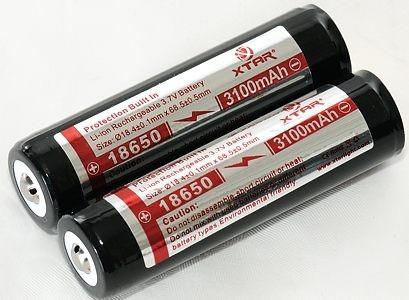 Аккумулятор (Li-ion) CYTAC Мод. 18650-3100