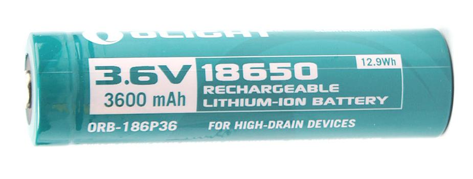 Аккумулятор (Li-ion) OLIGHT Мод. 18650