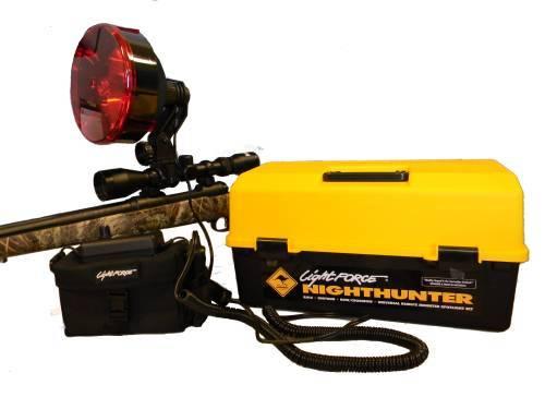Фонарь-прожектор LIGHTFORCE Mод. NIGHTHUNTER-140-PACK+BPS