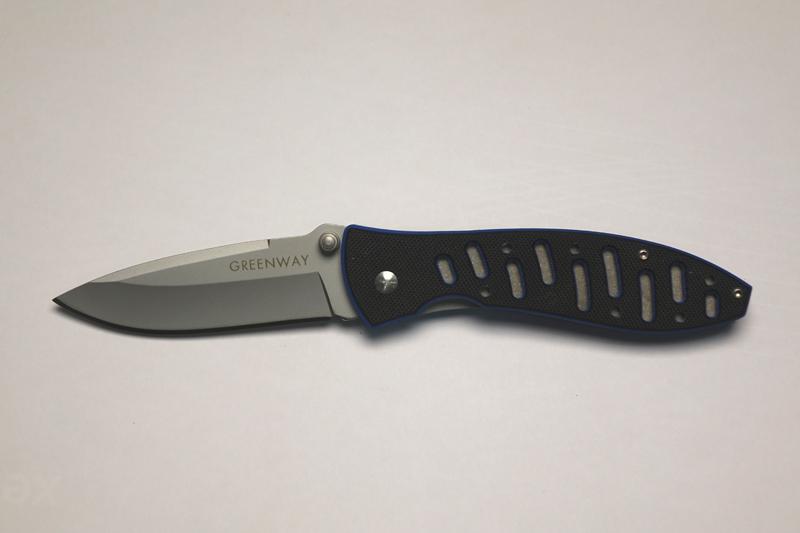 Нож туристический складной,