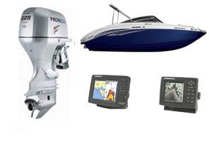 Катера, лодки, лодочные моторы, эхолоты и навигаторы