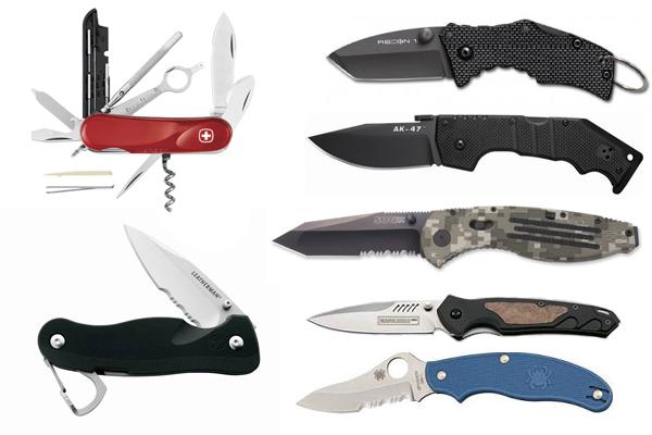 Ножи складные (c лезвием до 9 см)