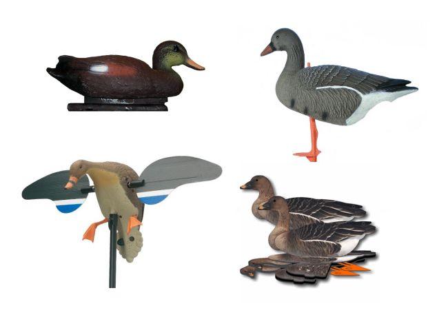 Подсадные утки, гуси и т.д.
