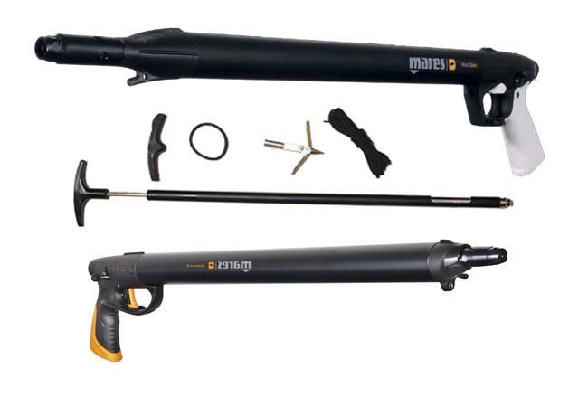 Ружья для подводной охоты