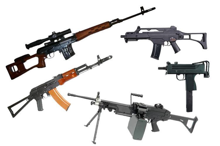 Страйкбольные винтовки
